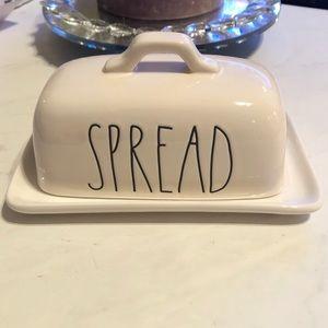 Rae Dunn Spread Butter Dish